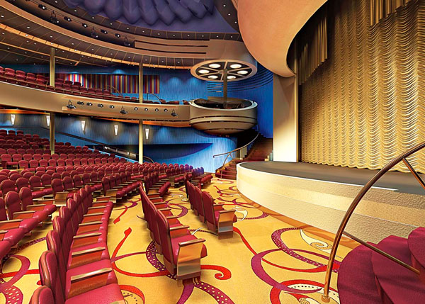 Holland America Eurodam Theatre